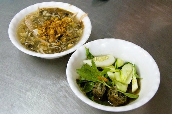Grilled eel soup - Picture of Dong Thinh Nha Hang Mien ...