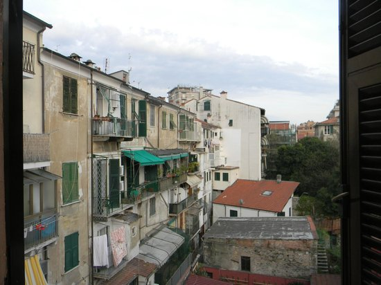 Hotel Genova: A vista não é das melhores