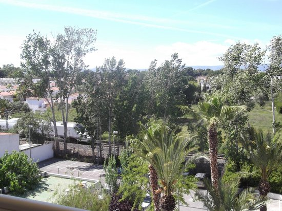 Hotel Best Cambrils : THE VIEW FROM MY BALCONY