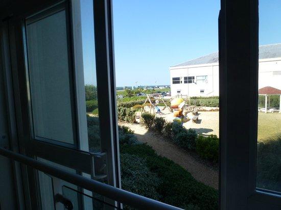 Butlin's Shoreline Hotel: View from room