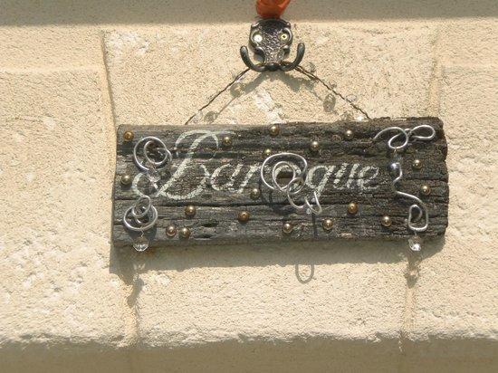 Entre Vignes et Chateaux: Notre chambre BAROQUE