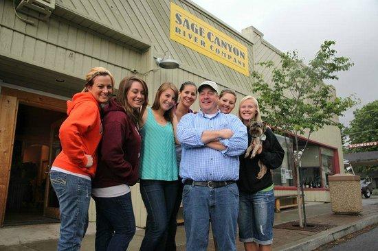 Sage Canyon River Company - Day Trips: SAGE'S GIRLS :)