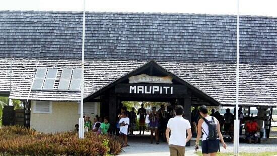 Maupiti Residence : Aéroport de Maupiti