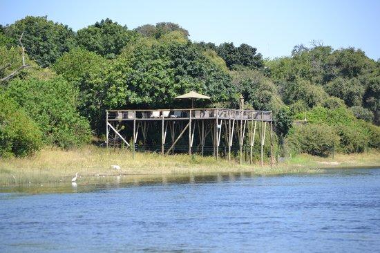 Chobe Game Lodge: uitzicht toren