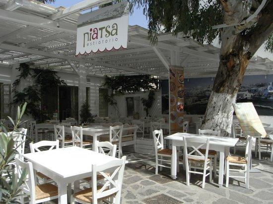 Piatsa Restaurant: Piatsa estiatorio