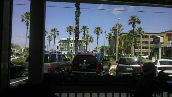 O.C. White's Seafood & Spirits : view from my table