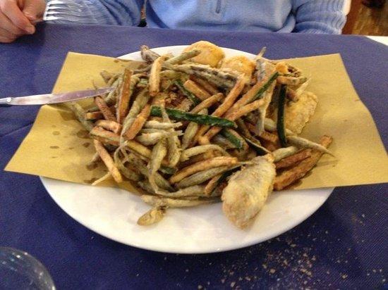 Pescheria Al 22: La frittura di paranza