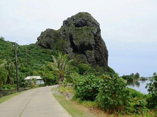Maupiti Residence : Village de Maupiti