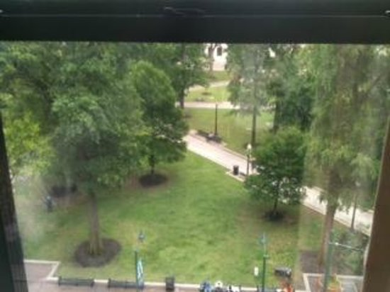 SpringHill Suites Memphis Downtown: View of the park from 7th floor