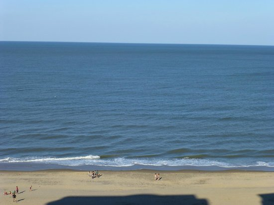 A view of Virginia Beach from Ocean Beach Club.