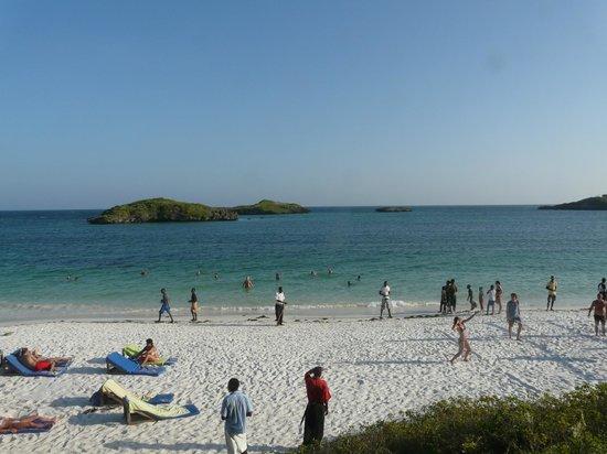 Aquarius Club: Vista dalla spiaggia