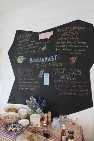 The Stop B&B: breakfast