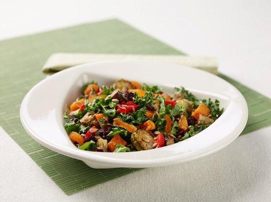 Silver Diner: Warm Local Roasted Veggie Salad