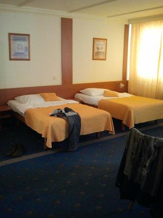 TOP HOTEL Praha: ruime eenpersoons bedden (formaat twijfelaar)
