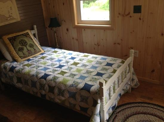 Pelee Places: twin bed in back room