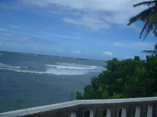 Miltons Beach Resort: balcony oceanview - breath taking