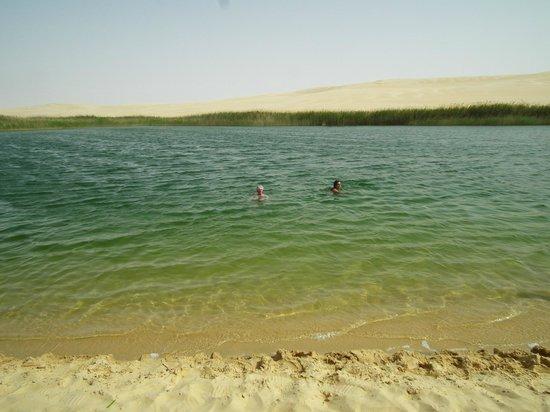 Great Sand Sea: Acqua fresca