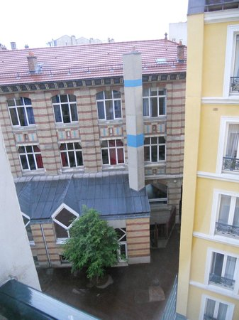 Hotel Le Royal: View from the 5th Floor Room away from the Blvd