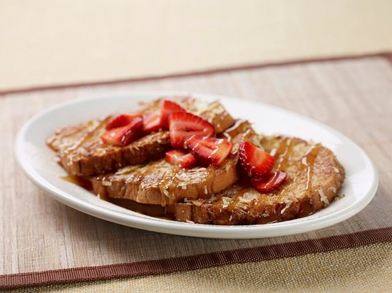 Silver Diner : Gluten-Free Paradise French Toast