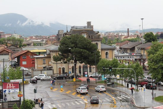 Best Western Hotel Piemontese: Вид из номера