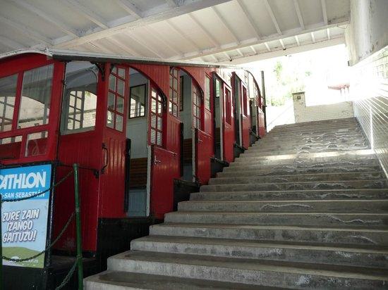 Hotel Gran Bahia Bernardo: Die Standseilbahn auf den Hausberg
