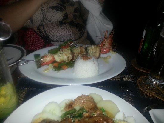 Joglo Restaurant & Bar: Отлично приготовленные морепродукты
