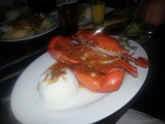 Joglo Restaurant & Bar: Вкуснейший краб