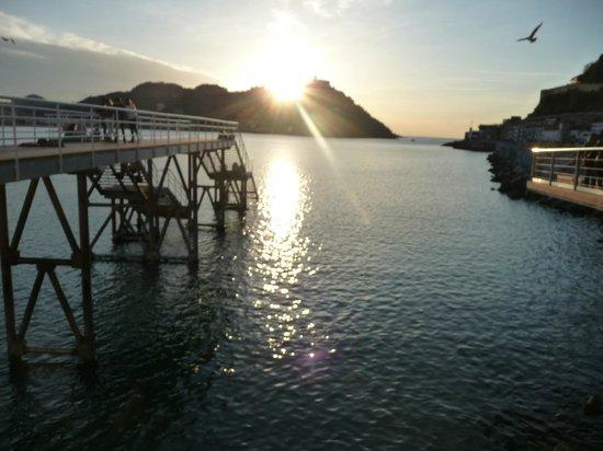 Hotel Gran Bahia Bernardo: Abendstimmung im Hafenbereich