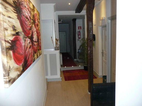 Hotel Gran Bahia Bernardo: Der kleine aber sehr schöne Rezeptionsbereich