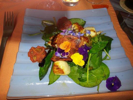 Tamarillos : Scallop Salad