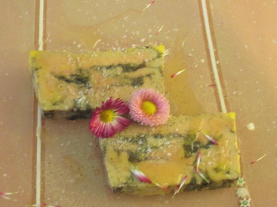 Tamarillos : Foie Gras with Vanilla and Flowers