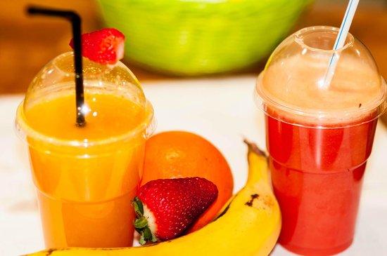 El Cafetico: fresh natural juices
