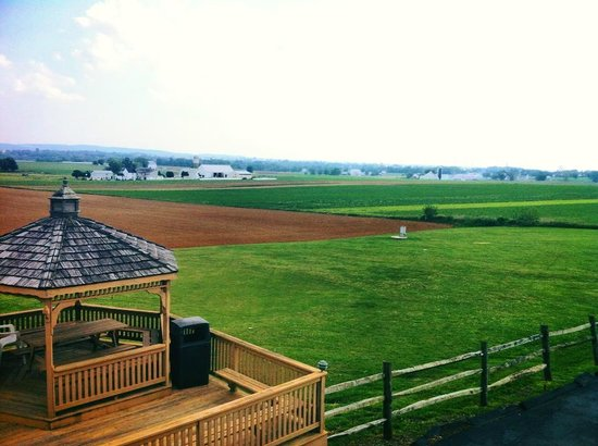 Harvest Drive Family Inn: This was only one angle of the amazing view from outside our room.. it was beautiful.