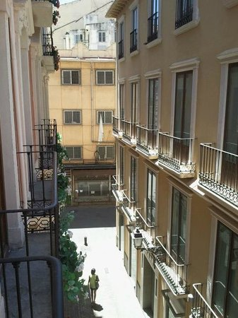 Las Nieves Hotel: View balconny