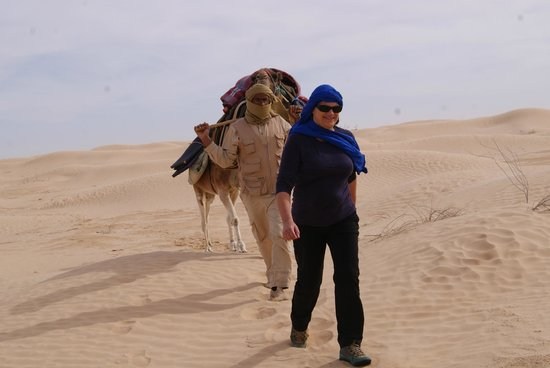 Houmt Souk, Tunisien: Sightseeing tour in the South of Tunisia...Sahara ! with Autre Tunisie travel agency