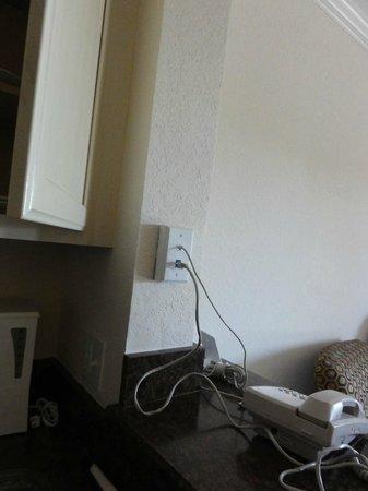 Palisades Resort : conexion a internet en la habitacion (por cable)