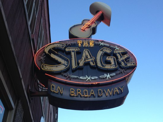 The Stage on Broadway: The Stage