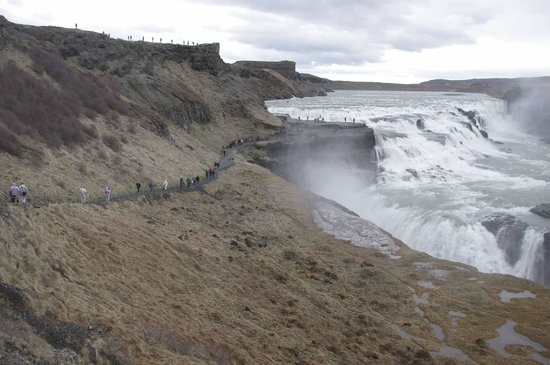 Eskimos - Day Tours: Gullfoss Waterfall