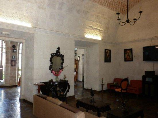 Hotel Santa Rosa: La salle familliale