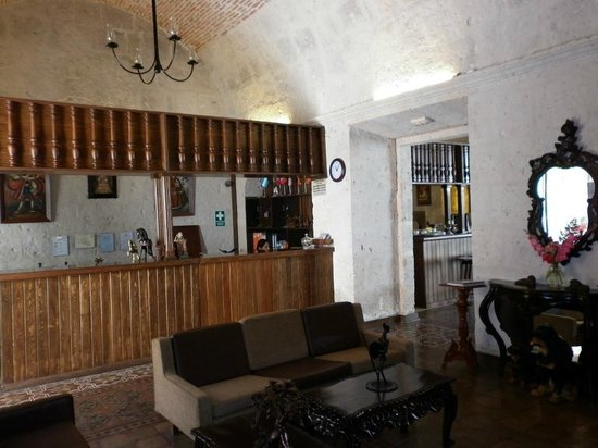 Hotel Santa Rosa: la réception