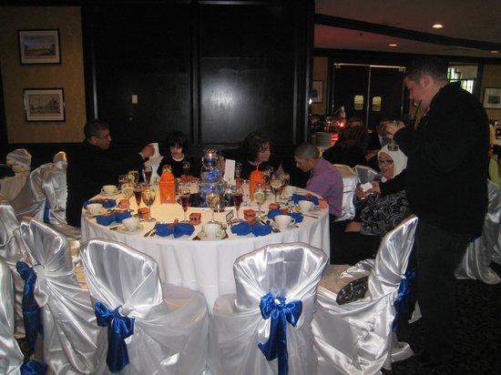 Crowne Plaza Hotel Nashua: Hunt Club Set for Reception