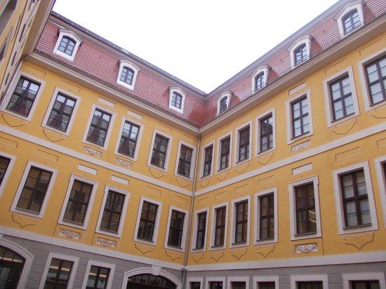 Bach-Museum: museo bach - cortile interno