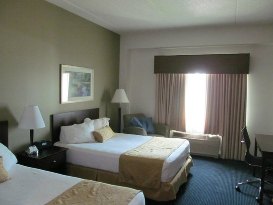 Grand Harbor Resort and Waterpark: Standard Double Double Room