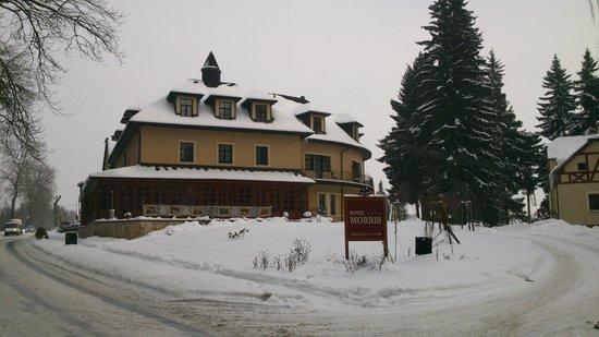 Golf Hotel Morris: Ansicht des Hotels bei Ankunft