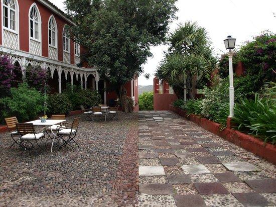 Hotel Rural Las Longueras: Terraza