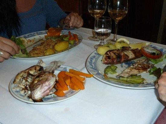 Restaurante Reis: Misto peixe Grelado
