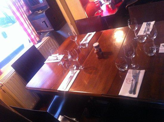 La Bonne Heure : Belle table