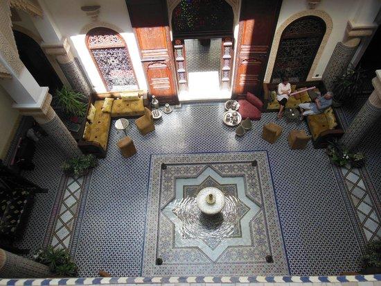 Riad Salam Fes: Salon d'accueil