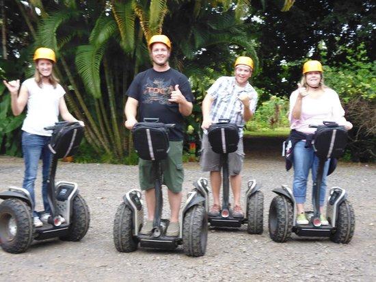 Segway Off Road at Botanical World Adventures: Segway  Ride on the Big Island
