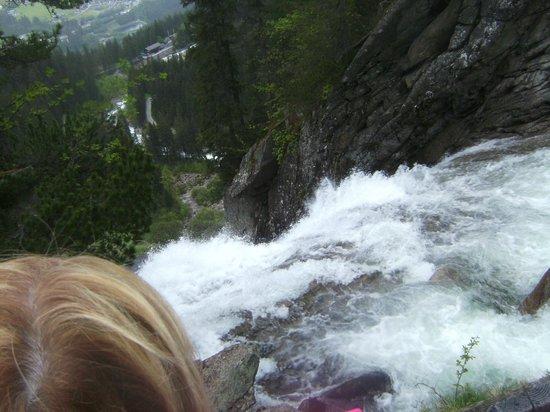 Hotel Gruener Baum: Krimml waterfall